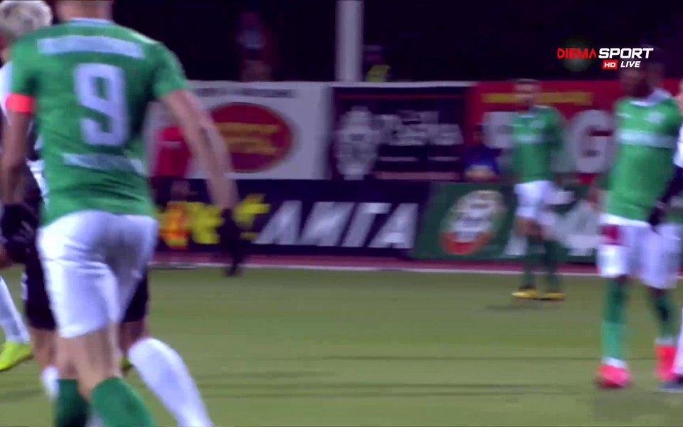 Отборите на Берое и Локомотив Пловдив играят при резултат 1:0