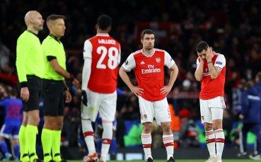 Сериозни финансови загуби за Арсенал без ШЛ