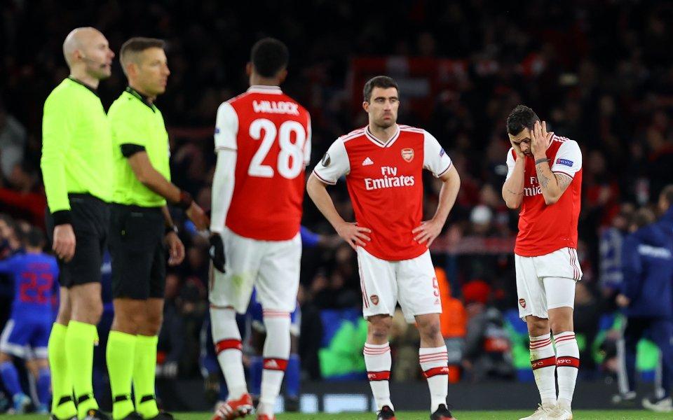 Отборът на Арсенал обяви загуби на стойност от 27 милиона