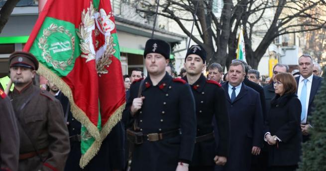 Откриха възстановения войнишки Паметник на загиналите воини за свободата на