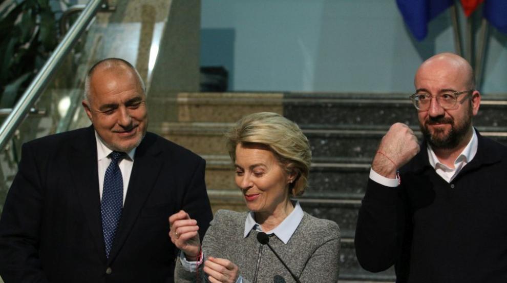Урсула фон дер Лайен: България показва, че...