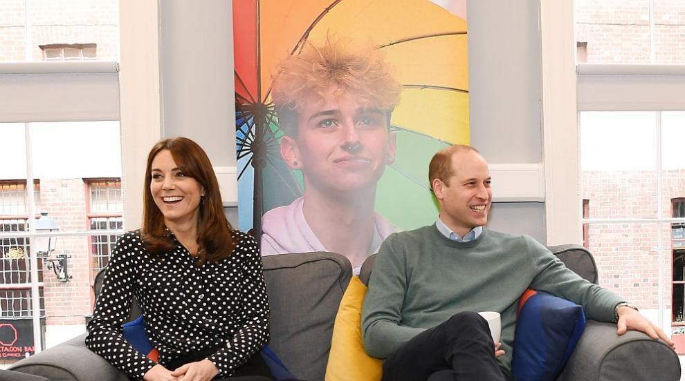 Уилям и Кейт зарадваха децата на хора от първа линия...