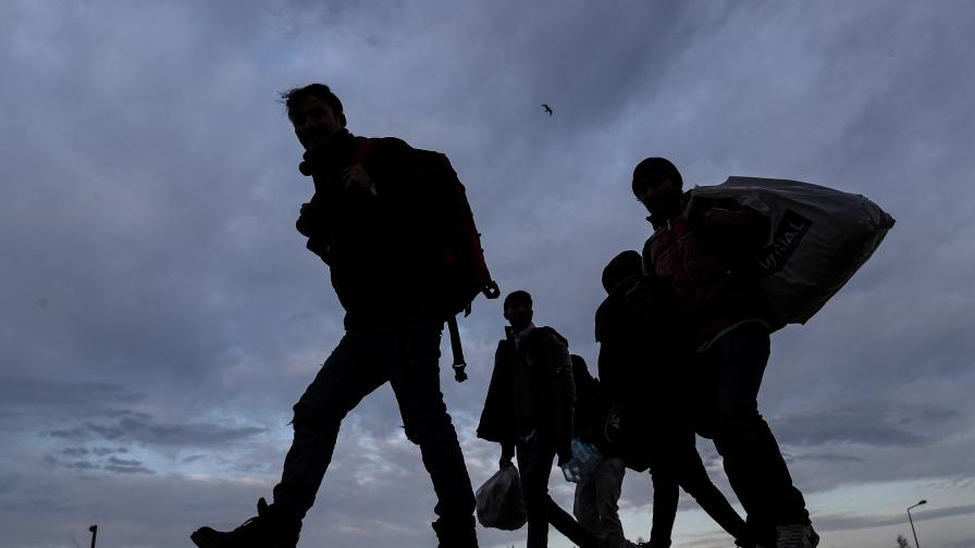 Задържаха 21 нелегални мигранти край Любимец