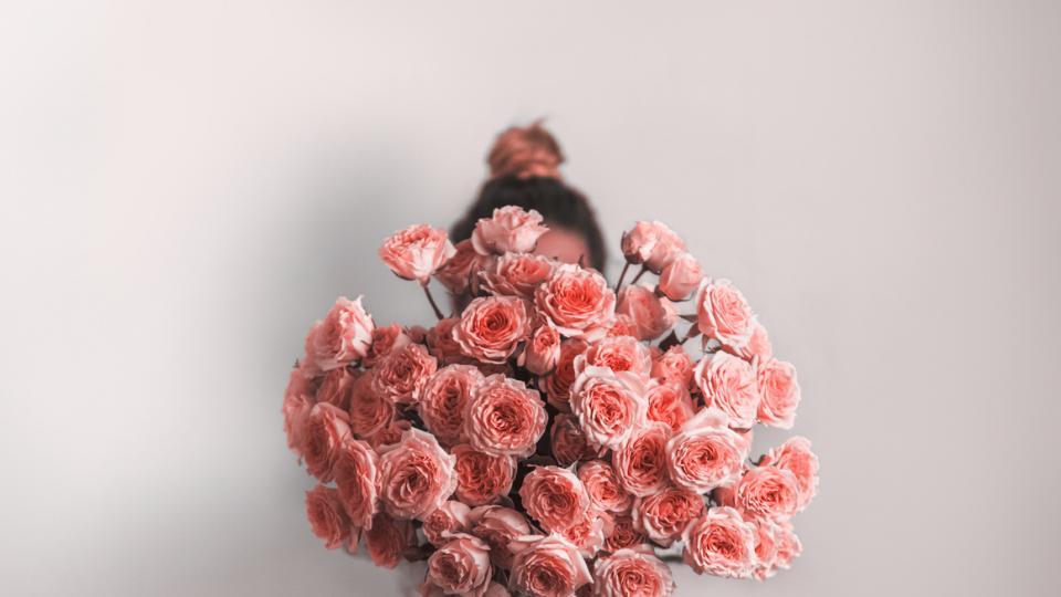 дневен жена цветя