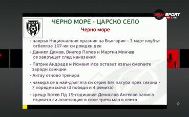 Черно море и Царско село откриват кръга на Тича