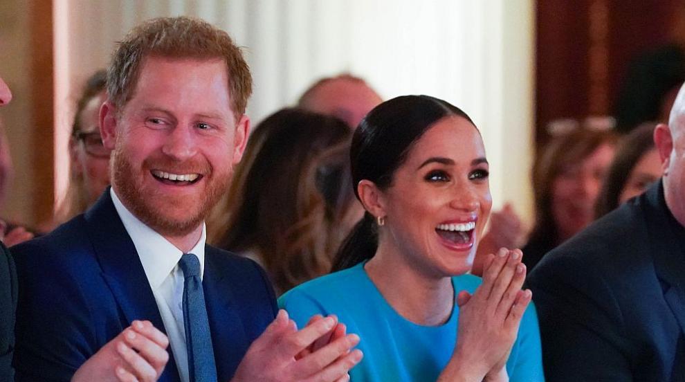 Принц Хари и Меган задочно размениха реплики с...