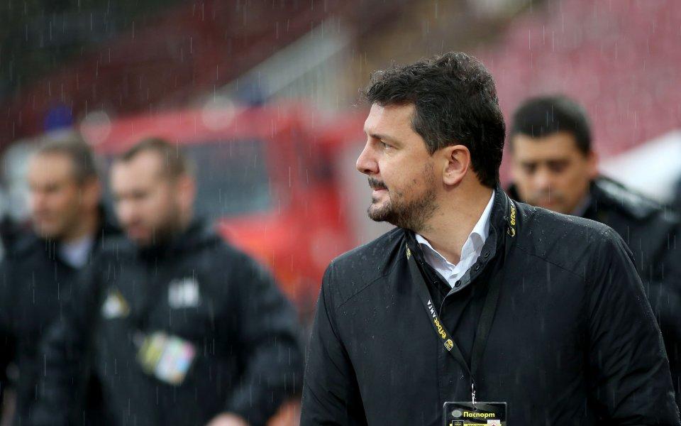 Треньорът на ЦСКА Милош Крушчич похвали играчите си след победата