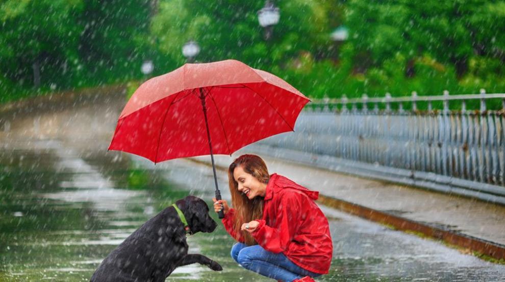 Очаква ни облачен и дъждовен вторник (ВИДЕО)