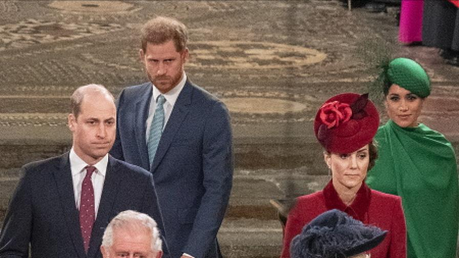 Принц Уилям с първи коментар след интервюто на Меган и Хари