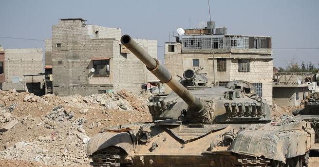 Сирийската противовъздушна отбрана прехвана