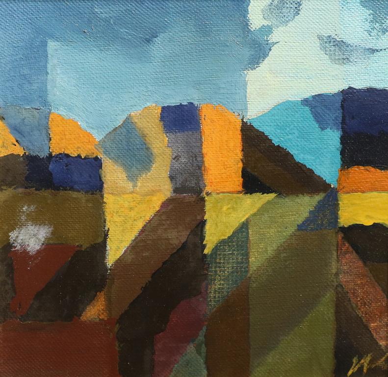 <p>Иван Кирков</p>  <p>Пейзаж, 2009 маслени бои, платно</p>