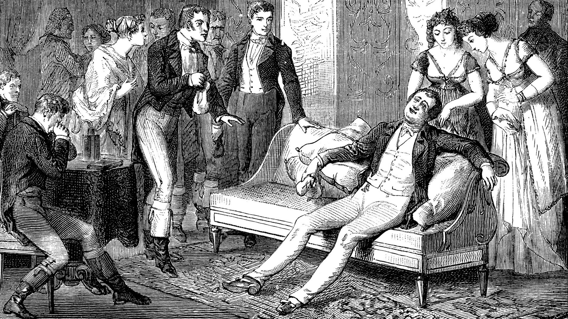 <p><strong>Забава с райски газ</strong></p>  <p>Между 1795 и 1798 г.британският химик сър Хъмфри Дейви провел експерименти с райски газ. И понеже изпробвал въздействието му върху себе си, открил не само болкоуспокояващото, но и опияняващото действие на този газ, който днес се използва като упойка.</p>