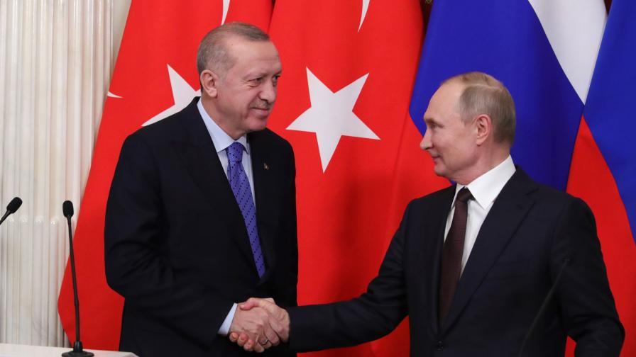 Путин и Ердоган доволни, напрежението в Идлиб намалява