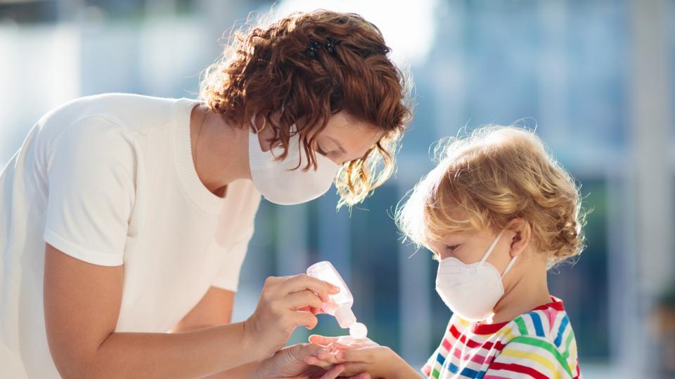 вирус грип коронавирус дете майка дезифектант гел