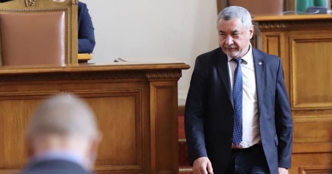 """""""По предложение на Валери Симеонов, когато съставяхме Програмата на коалиционното"""