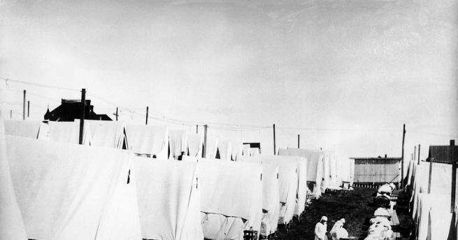 Непосредствено след края на Първата световна война пандемията от т.нар.