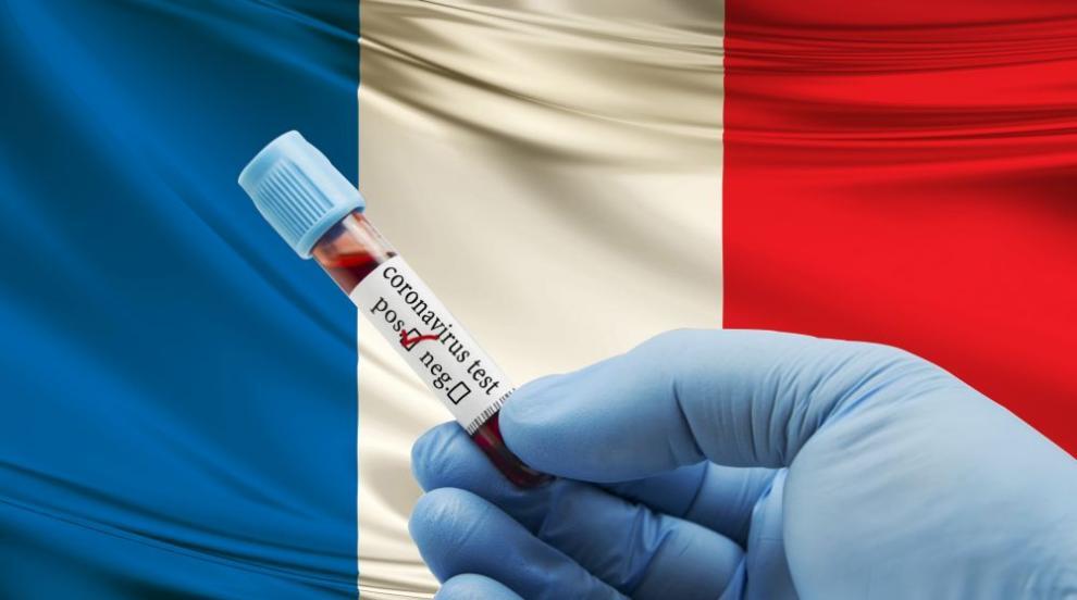 Франция с мрачен рекорд по смъртност от пандемията