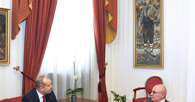 """Държавният глава Румен Радев проведе днес среща на """"Дондуков"""" 2"""