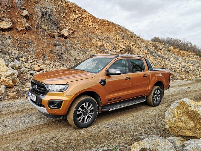 Ford Ranger Wildtrak галерия