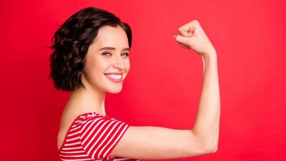 жена силна здраве