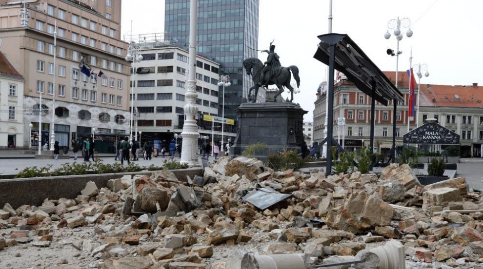 Ново земетресение разлюля Загреб (ВИДЕО)