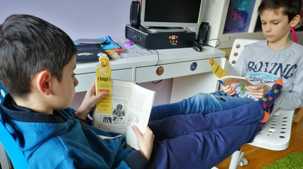 Как да мотивираме детето си да чете по време на...