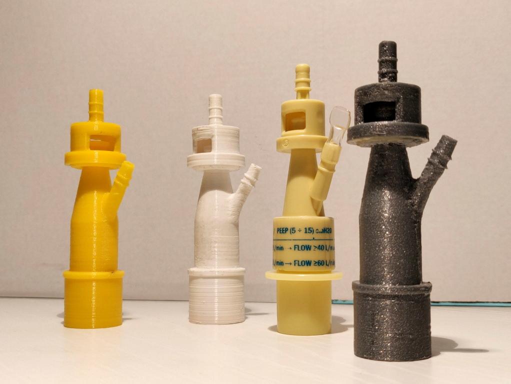 <p>Прототипът е направен от полилактична киселина с нажежаема жичка, която позволява да бъде готова само за няколко часа, дори и да не с голяма точност.</p>  <p>Успешно тестван върху пациент, останалите клапани са отпечатани на 3D принтер, този път с две различни техники: едната със светлочувствителна смола, а другата с полиамид 12, който позволява много висока прецизност.</p>