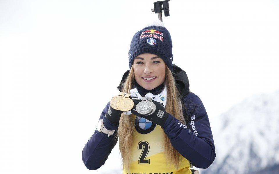 Доротея Вирер е бронзова медалистка от Зимните олимпийски игри в