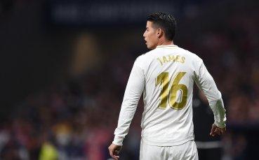 Реал Мадрид ще продаде Хамес Родригес за 25 милиона евро