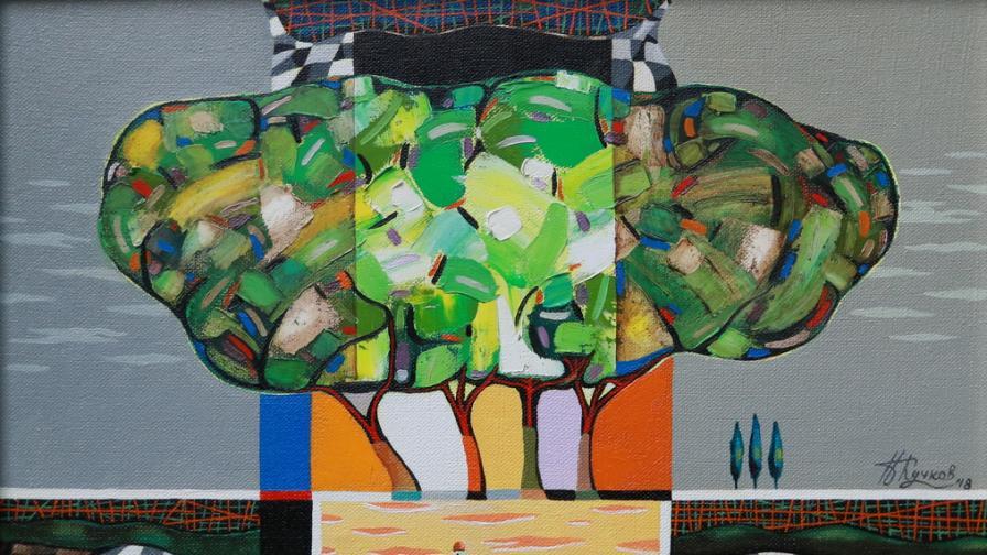 Изложба живопис от Неделчо Кучков