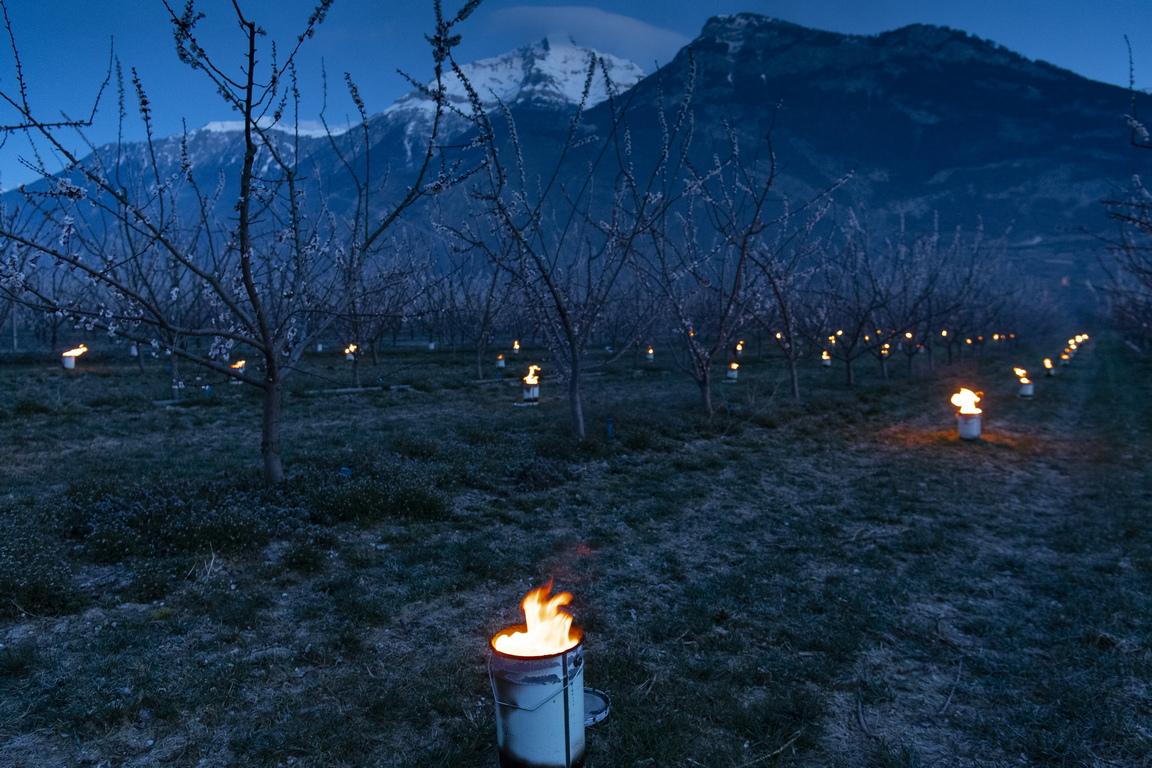 <p>Кантон Вале, Швейцарските Алпи</p>