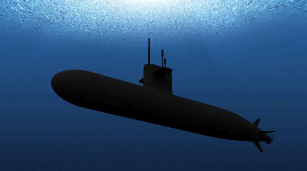 """Подводница от """"изгубения флот"""" на Хитлер лежи на..."""