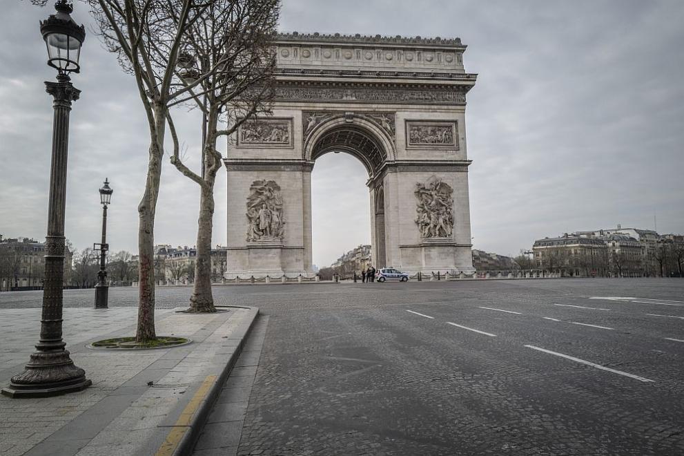 Париж по време на коронавирус пандемия
