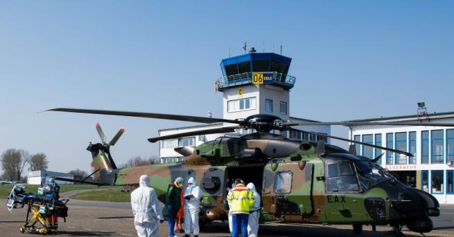 Германската армия днес изпрати пълен с помощи самолет Airbus A310