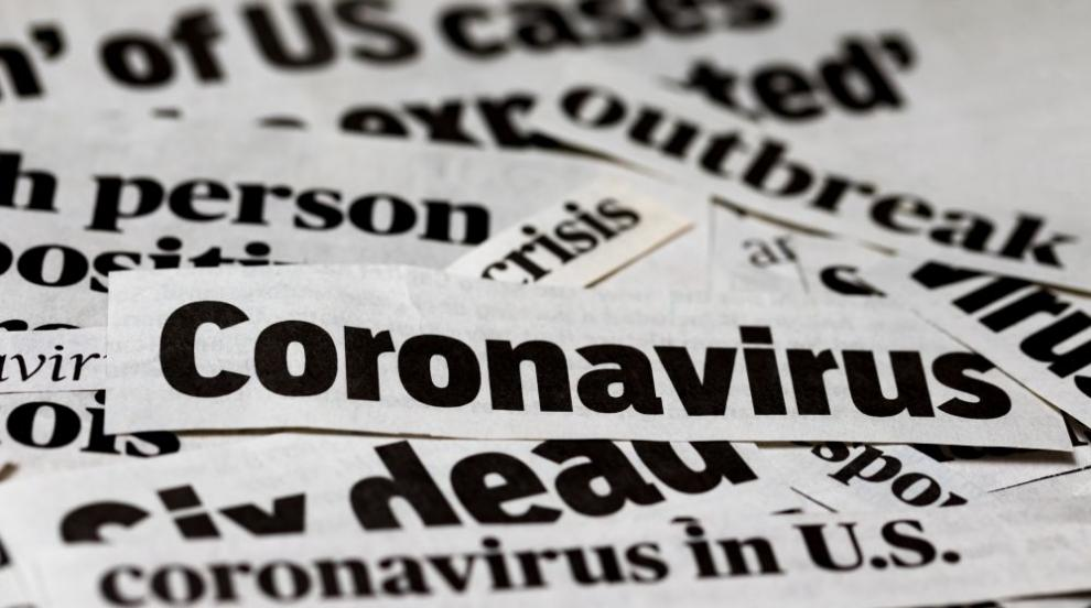 Най-засегнатите страни от коронавируса в Европа...
