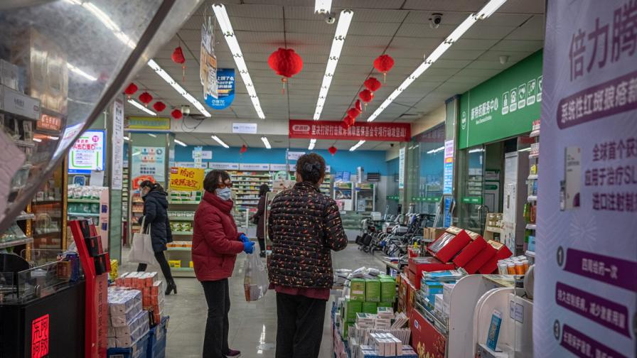 Китай затвори цял град заради трима заразени с коронавирус