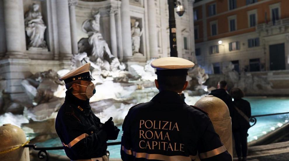 Абсолютен рекорд на заразени в Италия, Рим въвежда...