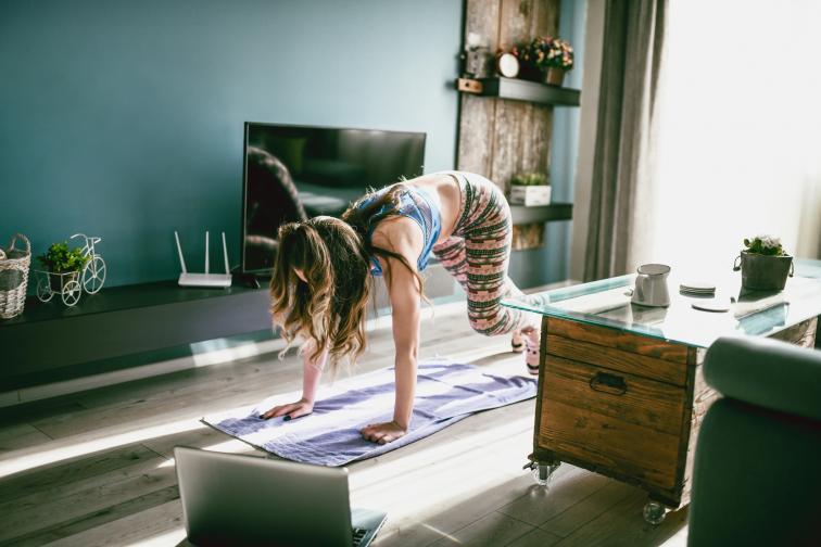 упражнения тренировка вкъщи