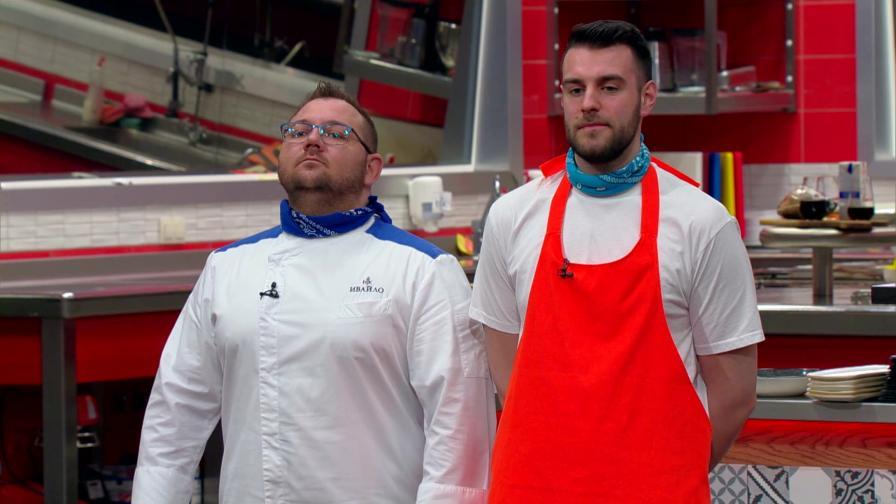 Атанас победи Лука в кулинарния дуел за оцеляване в Hell's Kitchen България