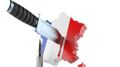 <p>Атака с нож във Франция, има жертви и ранени</p>