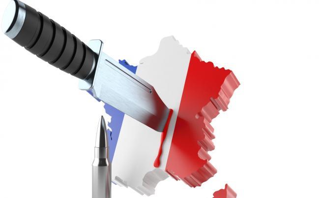 Атака с нож във Франция, има жертви и ранени