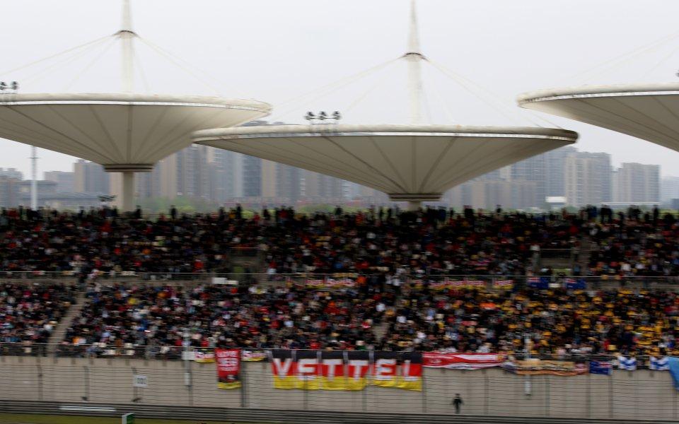 Пистата край Шанхай отново отвори врати. На трасето се организира