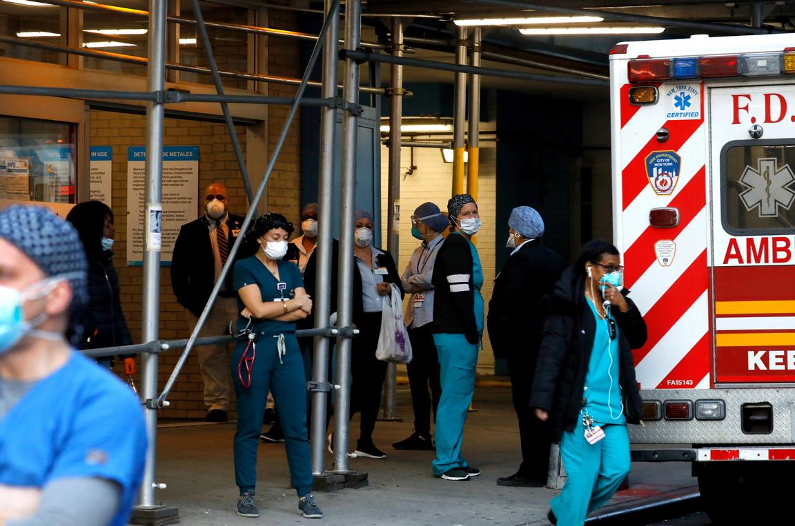 <p>Броят на нови заразени и смъртните случаи в Ню Йорк - епицентърът на епидемията от коронавирус в САЩ, намаля за първи път през последното денонощие, съобщиха местните власти</p>