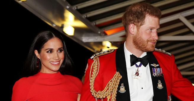 Британският принц Хари и съпругата му Меган, които наскоро се