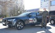 Ключовете от Volvo V90 за ВМА прие ген. Мутафчийски.