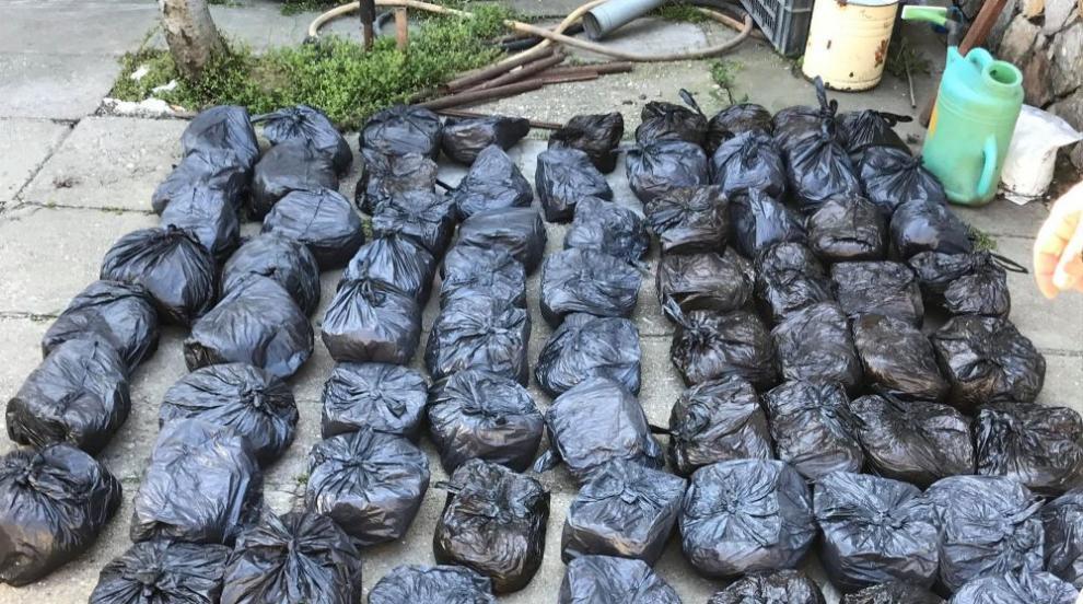 След акция в Русенско: Иззеха над 70 кг контрабанден...