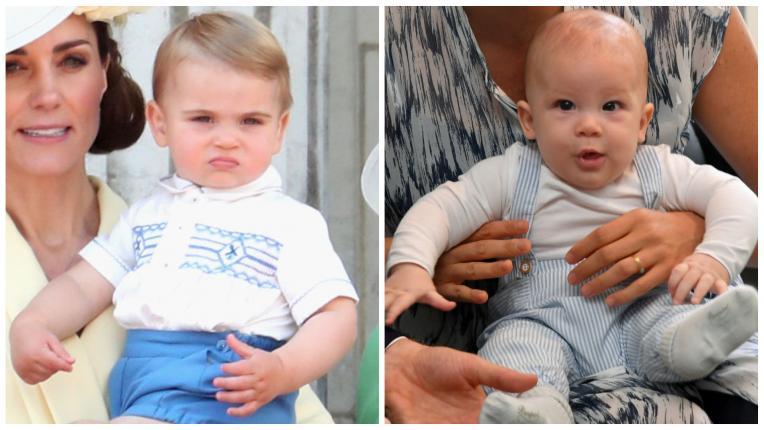 Арчи принц Луис кралско семейство
