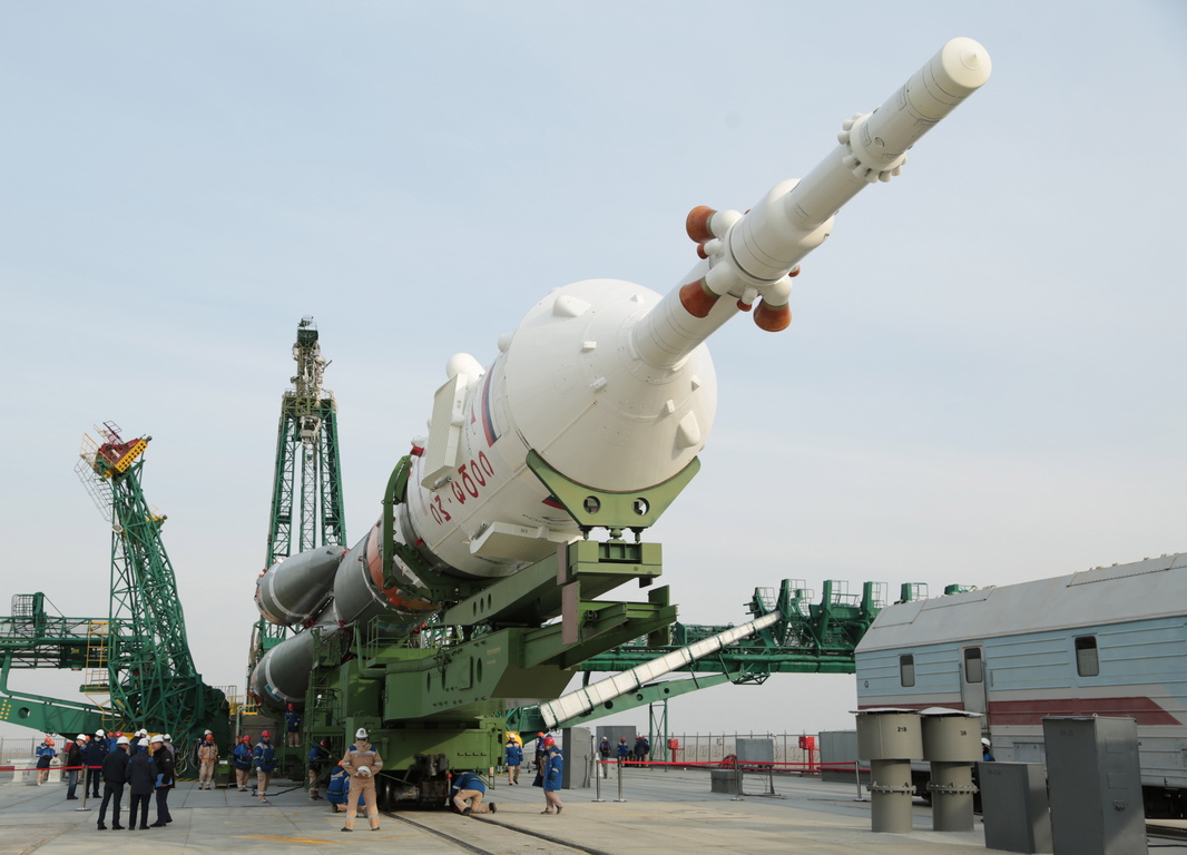 <p>Изстрелването бе от космодрума Байконур в Казахстан.</p>