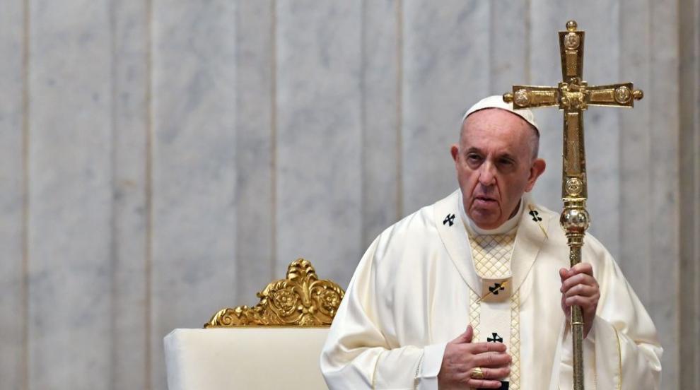 Папа Франциск иска да спре мафията да ползва образа...