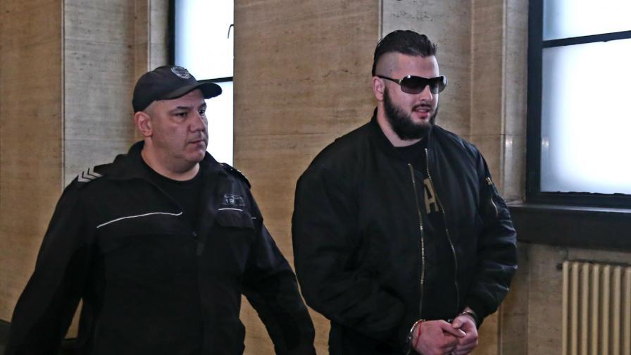 Йоан Матев преди едно от съдебните заседания по делото